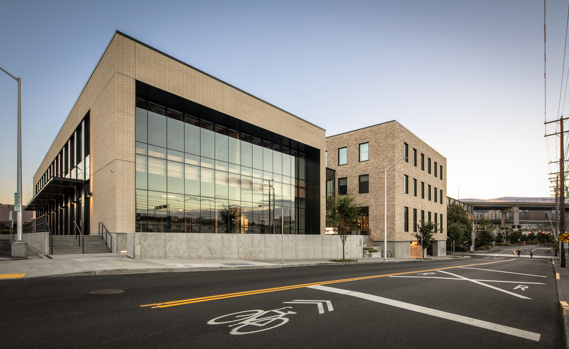 Nail Laminated Timber Takes Center Stage in New Portland Building