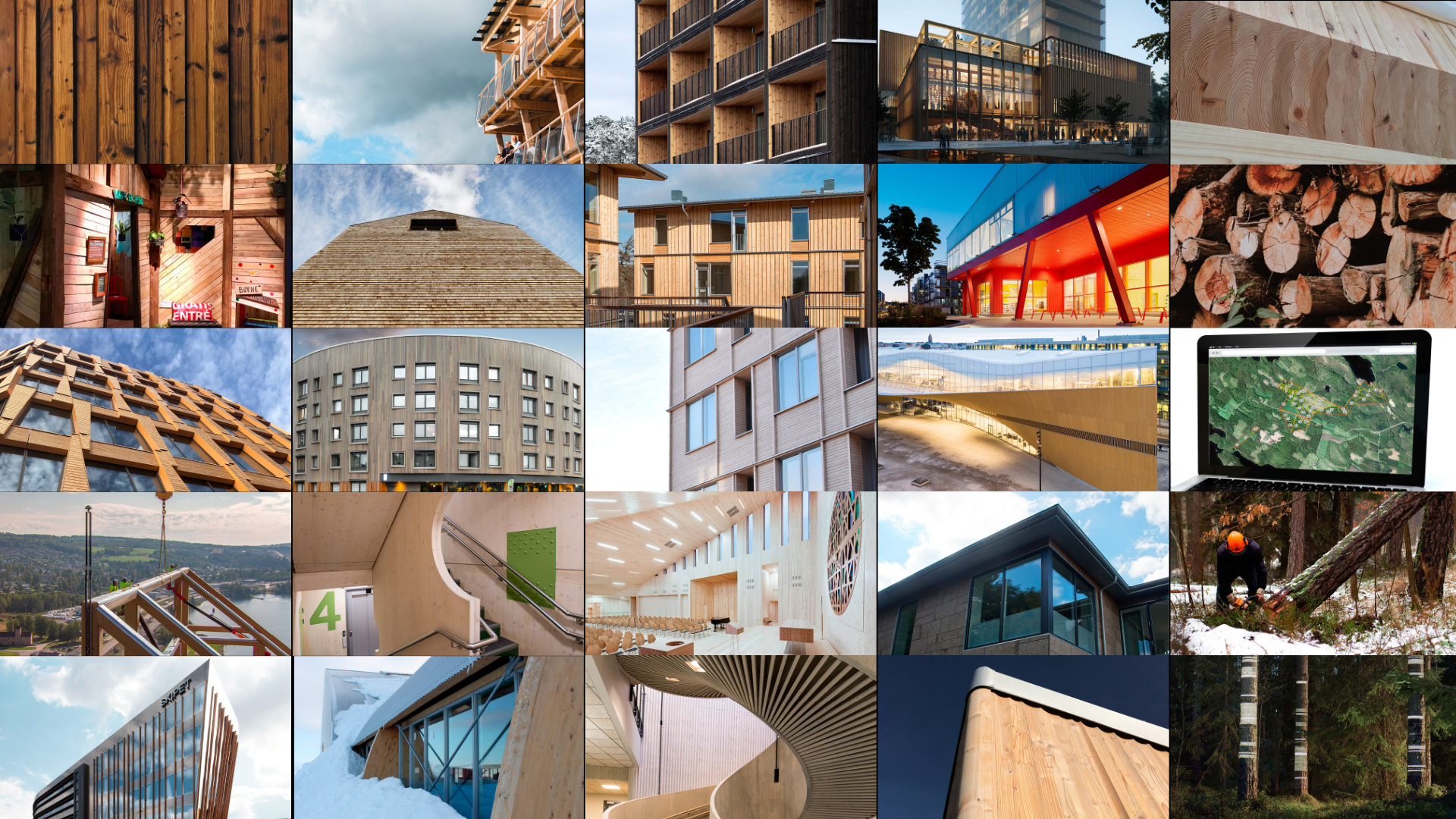 New Report Emphasizes Scandinavia's Innovation in Wood Construction